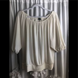 NWT Express off white top